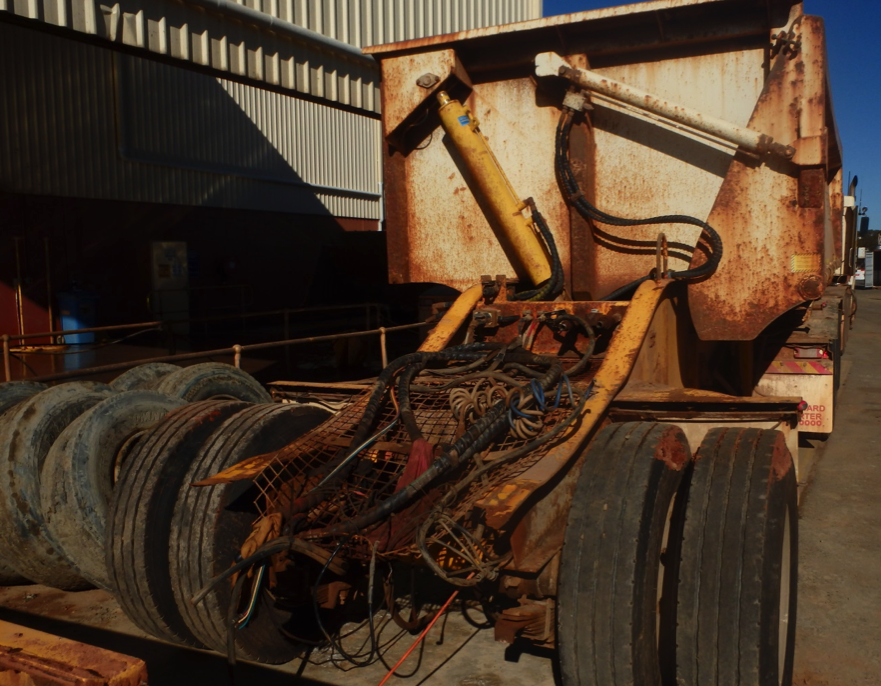Root Cause Analysis of a Tipping Trailer Chassis Failure
